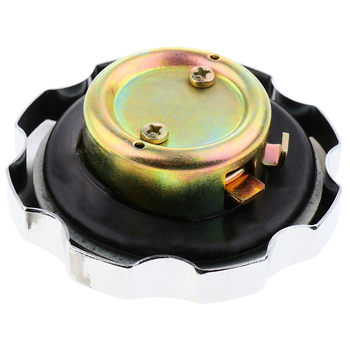 Motorcycle Gas Tank Cap Lock Cover with Keys for Honda ZJ 125 CG 125 Motorbikes Repalce Assembly image