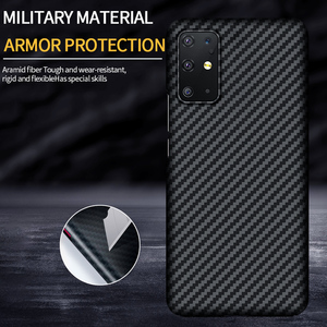 Image 2 - GRMA יוקרה אמיתי טהור סיבי פחמן כיסוי עבור SAMSUNG Note20 S20 Ultra S10 בתוספת S10e מקרה עבור Samsung Galaxy Z flip SM F7000 מקרה
