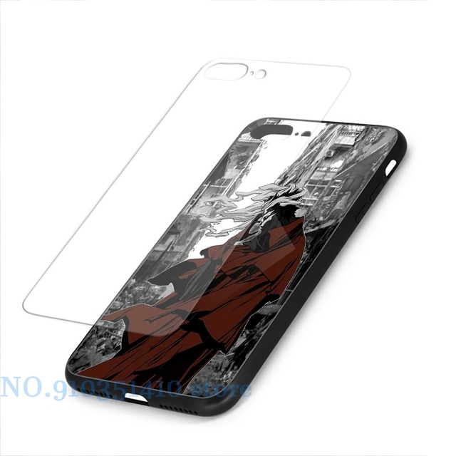 Ergo Proxy Phone Case For iPhone 12 Pro 11 X XR XS Max 8 7 6 6s Plus 5s Soft TPU Glass Back Cover