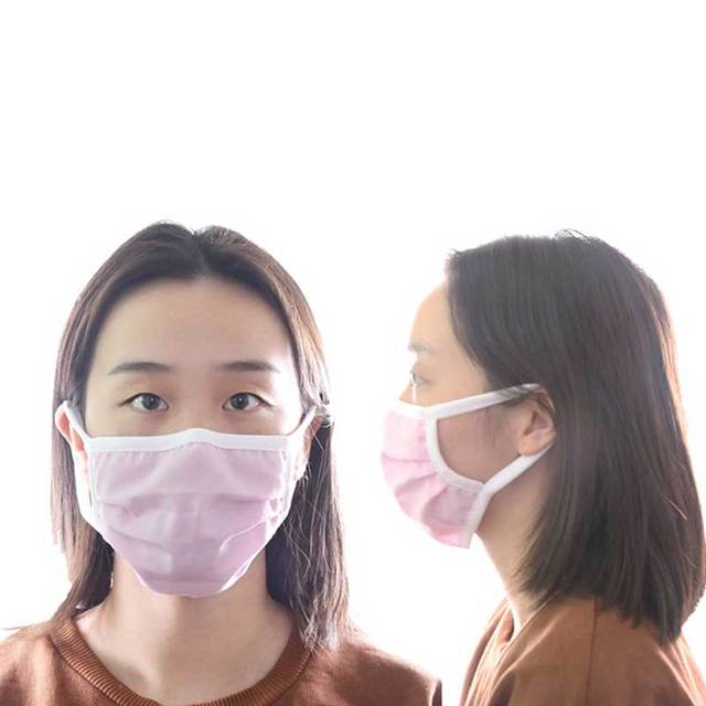 Men Women adult  Non-woven Anti Dust Mask Activated Filter 2layers Mouth Mask Muffle Bacteria Proof Flu Face Masks 3