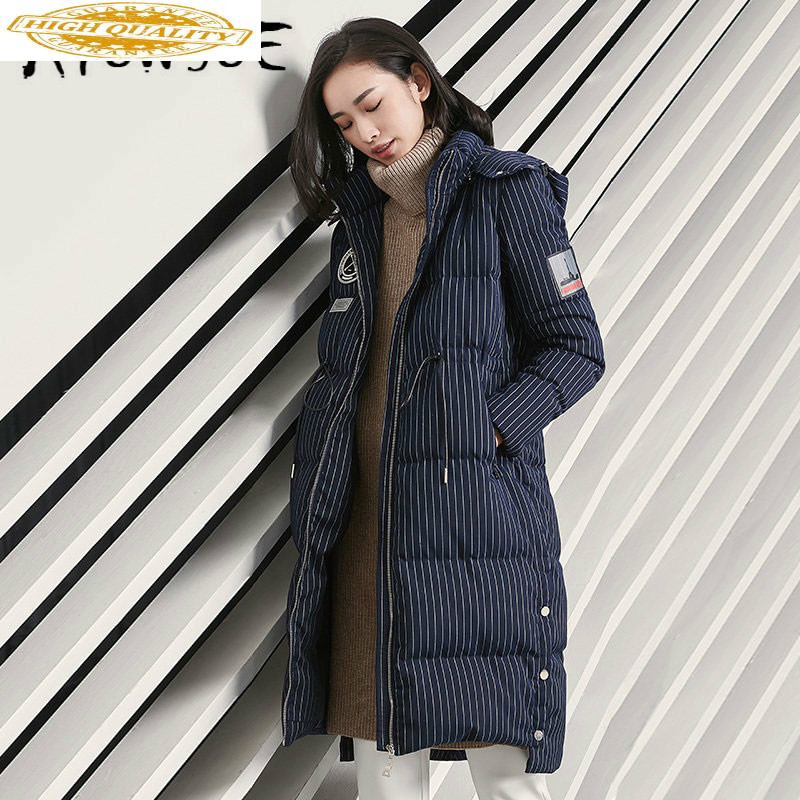 90% White Duck Down Jacket Women Clothes 2019 Winter Coat Women Hooded Korean Puffer Jacket Women Warm Parka VIM17D5051 YY1993