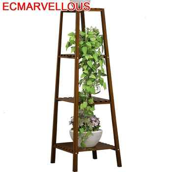 Plantas Table Indoor Varanda Huerto Urbano Madera Estanteria Jardin Stojak Na Kwiaty Balcony Dekoration Flower Shelf Plant Stand - Category 🛒 Furniture