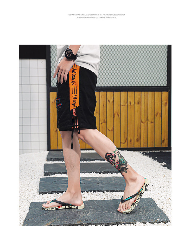 Hd0b69f92c91d4a1a95cfa56ddc1cb085x - VESONAL Summer Graffiti Print Slippers Men Shoes Flip Flops Slipers Male Hip Hop Street Beach Slipers Casual Flip-flops