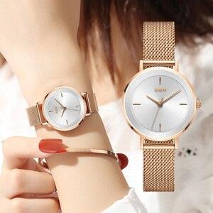 Image 1 - DOM New Women Luxury Brand Watch Simple Quartz Lady Waterproof Wristwatch Female Fashion Casual Watches Clock reloj mujer G 1307