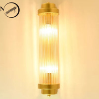 Simple Creative Rotatable Gold Wall Lamp E14 Luxury Postmodern Bedside Lamp for Vanity Lights Porch Light Wall Lights for Home