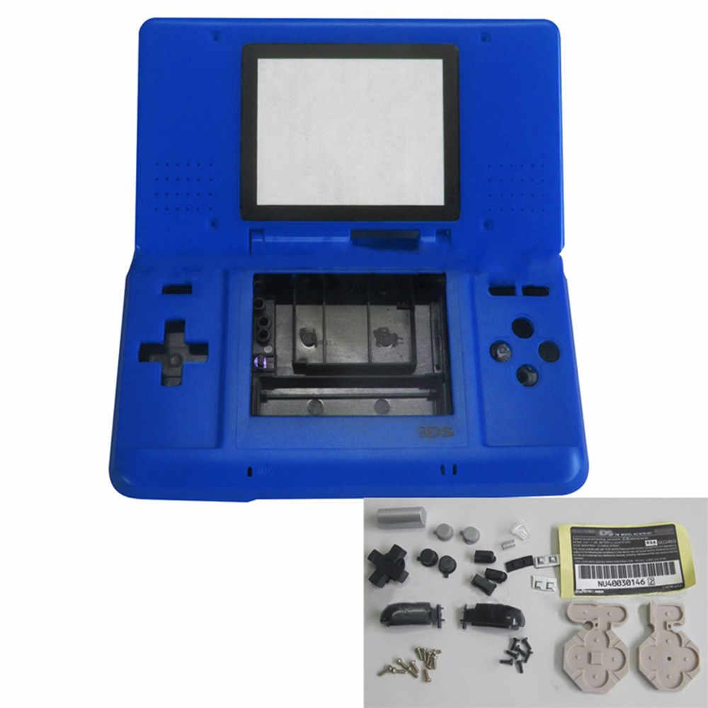 שיכון Shell Case כיסוי עם כפתורי עבור Nintend DS משחק קונסולת החלפת Dustproof מגן מקרה עבור NDS תיקון חלקים
