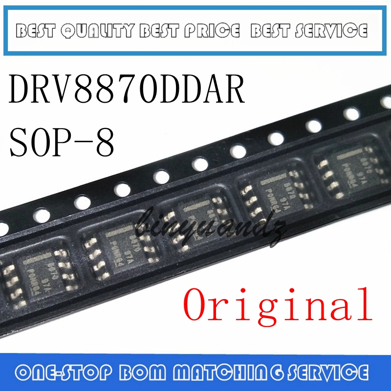 NEW 10PCS/LOT DRV8870DDAR DRV8870 MARKING 8870 SOP-8 IC Motor Driver IC Chip
