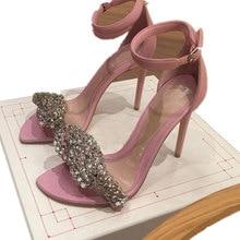 New high heels sandals women zapatos de mujer 2020 elegant summer shoes