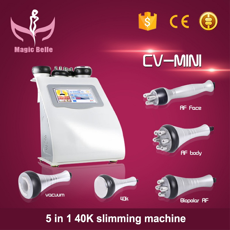 Hot Selling Liposuction Slimming Cavitation Vaccum Sliming Cavitation Rf Vacuum  With Best Effects
