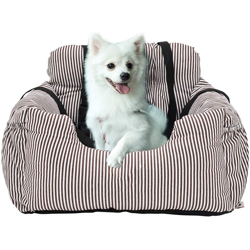 Pet Booster Seat Dog Car Seat Pet Booster Seat Pet Travel Safety Car Seat Dog Bed With Storage Bag