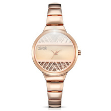 Fashion Casual Women Dress Watch Luxury Brand Woman  Bracelet Stainless Steel Analog Quartz Round Wrist Watches