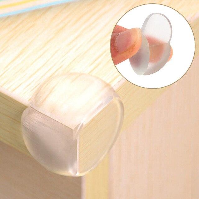 1Pcs Child Baby Safety Silicone Protector Table Corner Protection Cover Children Anticollision Edge Corner Guards Furniture 1