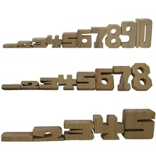 Wooden Block Toys Mathematics Learning Add Subtract Multiplication Arithmetic Teaching Aids Montessori Educational Enlighten Toy 1000pcs box three dimensional block mathematics teaching aids montessori learning material toys puzzle science educational toy