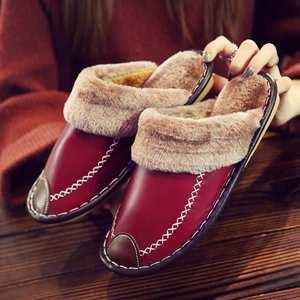 Winter Women Slippers Genuine