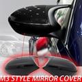 Черная Стильная крышка E90 E91 Pre-LCI 2005-2007 M3 E81 E82 E87 E88 для BMW 3 серии E92 E93, крышка заднего зеркала 2006 2007 2008 2009