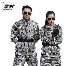 Uniforme militar de neve camuflagem do exército combate camisa uniforme militar tático terno roupas cs softair masculino roupas trabalho feminino