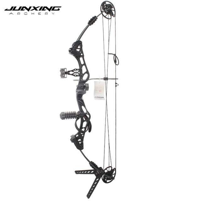 """1Pc 35-55 Lbs Archery Compound Bow Compound Bow 19-30"""" Draw Length 310fps IBO LIMBS For Hunting Shooting Camping Equipment 1"""