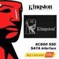 Kingston KC600 SSD 256GB 512GB 2,5 zoll SATA III HDD Festplatte HD SSD Notebook PC 1024GB interne Solid State Drive