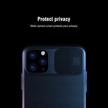 Pour iphone 11 Pro Max cas couvercle coulissant pour caméra protection NILLKIN pour iphone 11 cas couverture arrière pour iphone 11 Pro cas