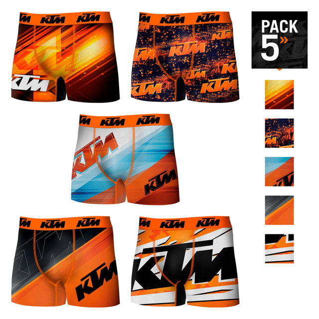 $ US $10.02 KTM Boxers pack 5 units shocker or single type boxer for men