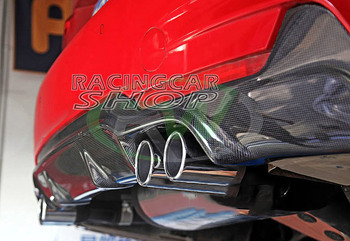 Real Carbon Fiber Rear Diffuser 435i 4pipes for BMW F32 F33 F36 4-series GranCoupe Msport models 2014up B128