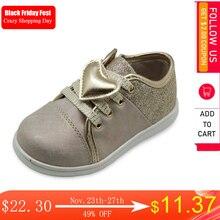 Apakowa ילדים בנות נעלי אביב סתיו בנות Sneaker אופנה ילדי עור מפוצל סניקרס לפעוטות בנות נעליים יומיומיות לב