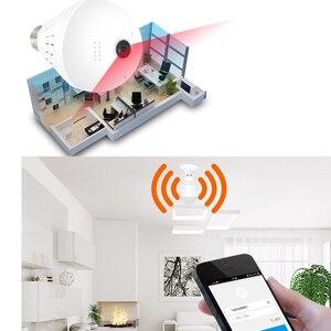 Image 5 - HD Wifi Camera 360° Panoramic Fisheye Hidden cam Bulb Light Home Security  CCTV Camera Two Ways Audio
