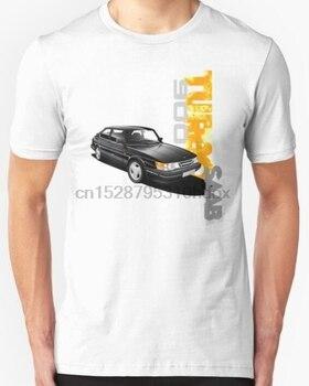 2019 New Arrival moda męska koszulka T-shirt rosja klasyczna Saab 900 Turbo Car