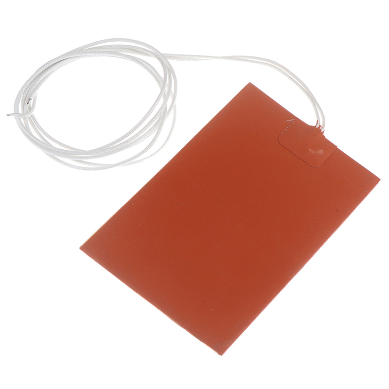 300W 220V Engine Oil Tank Silicone Heater Pad Universal Fuel Tank Water Tank Rubber Heating Mat Warming Accessories 10 X 15cm