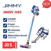 2020 jimmy jv83 aspirador de pó sem fio do motor digital 135 w forte potência 20kpa grande sucção aspirador pó coletor para casa