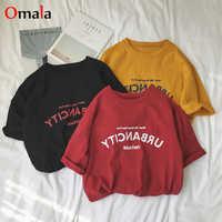 Frauen shirts 2020 sommer casual brief gedruckt t-shirt harajuku ulzzang kurzarm Oansatz grundlegende t-shirts frauen kleidung tops