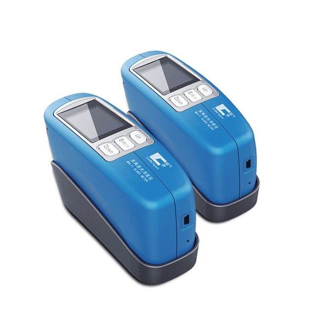 CS 300 tek açılı dijital Glossmeter 60 derece parlak Tester ölçer 0 ila 1000GU ölçüm aralığı