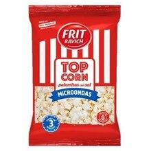 Popcorn with microwave salt 90 gr Top Corn