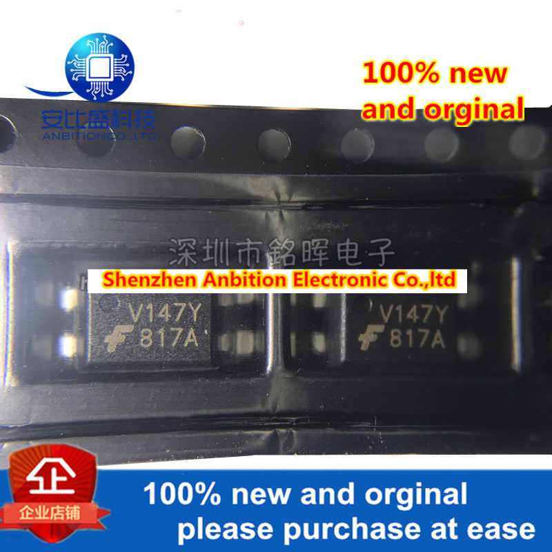 10pcs 100% New And Orginal FOD817ASD FOD817AS 817A SOP4 In Stock