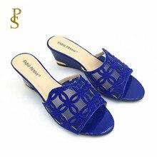 أسافين للنساء حذاء المرأة مع أحذية السيدات صافي مع الماس الحفر