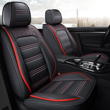 Universal Car Seat Cover Set Covers for Automobile Seat for Audi 100 C4 Q5 Q7 Auto Covers Car Interior Accessories Cushion Pad