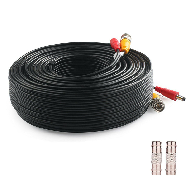 Power Video Security Camera Cable 150Ft BNC Extension Wire Cord For CCTV DVR