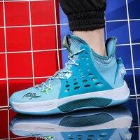 2020 novas crianças ginásio botas de basquete designer preto tênis masculino anti-deslizamento tênis de basquete formadores para o menino marca sapatos ao ar livre dos homens
