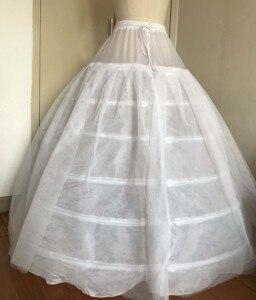 Свадебное Пышное Бальное Платье с шестью обручами для принцессы; Свадебные платья