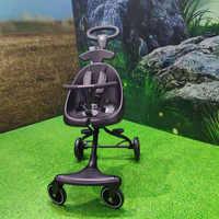 Baby gleiten werkzeug faltbare leichte kinderwagen vier-rädern kinderwagen