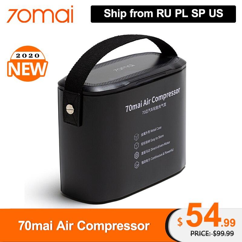 70mai Air Compressor DC 12V Digital Tire Inflator Air Pump For Car Motorcycle Tire  Inflator  Pump Auto Tyre Pumb