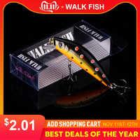 Peixe a pé 1 pçs minnow isca de pesca 70mm/8g swimbait pesca wobblers iscas artificiais para pesca leurre equipamento de pesca