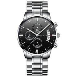 Relógio masculino estudante esportes relógio de quartzo à prova dwaterproof água moda luminosa cinto masculino relógio de pulso portátil