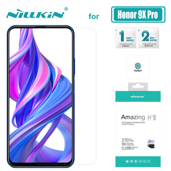 Nillkin for Huawei Honor 9X Pro 8X Tempered Glass Screen Protector H+ Pro 0.2mm 9H Hard for Huawei Honor 9X 8X Nilkin 2.5D Glass
