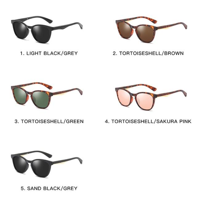 2020 Fashion Cat Eye Frames Polarized Sunglasses for Women Classic Luxury Retro Ladies Sunglasses UV400 Protection 4