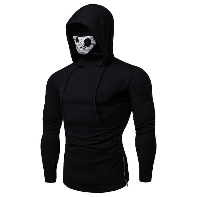 Pullover Hoodie with Mask 2
