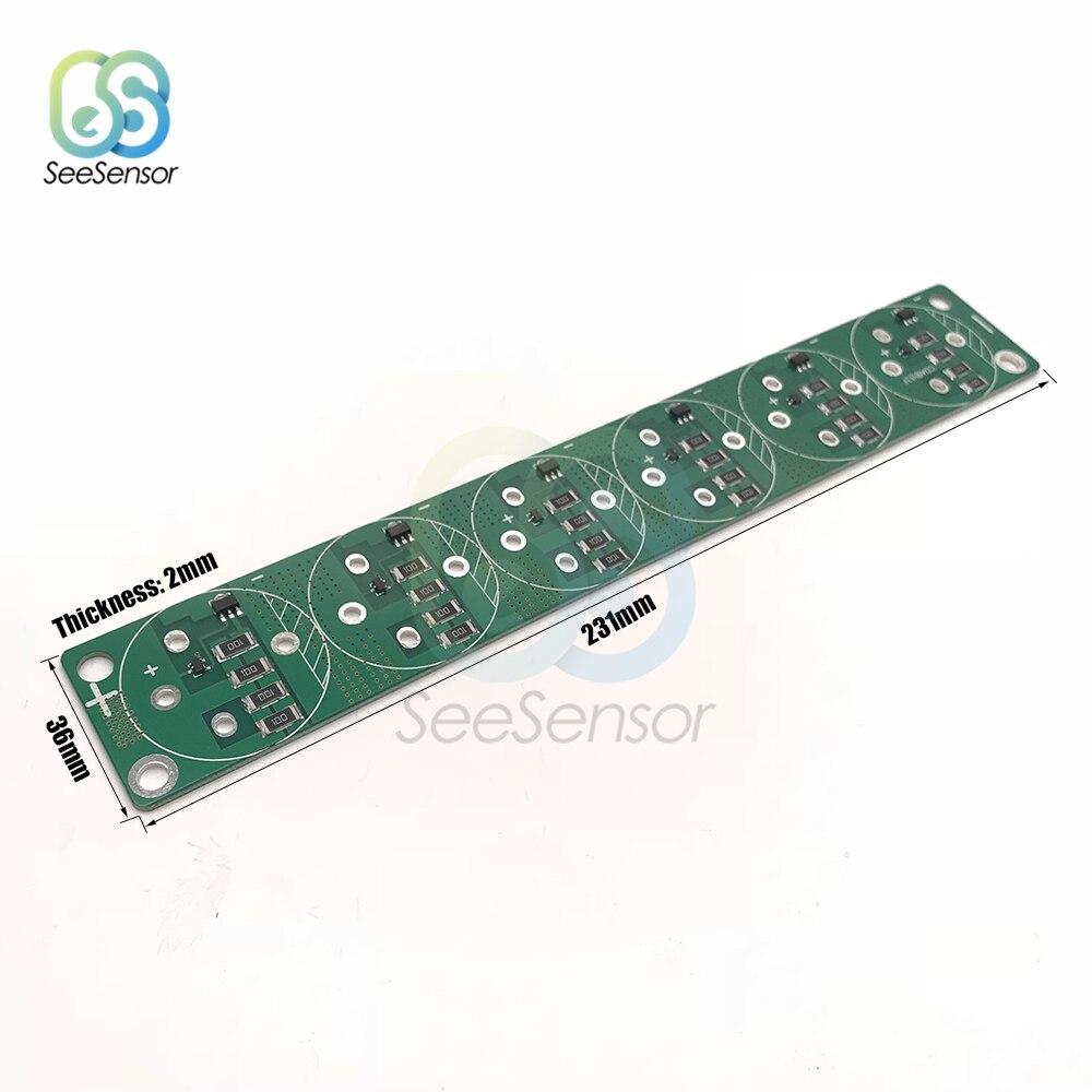2,7 V 2,85 V 3V 360-700F 360F 400F 500F 650F 700F Super condensador de Junta de Protección 231*36 * 2mm para condensador Super Farad