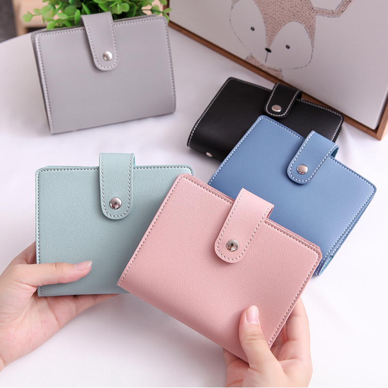 APP BLOG 60 Bits Women's Men's Card Holder High Capacity Quality Credit Cards Case Organizer Passport Wallet Card Wallets Purse image