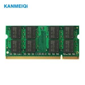 Image 2 - KANMEIQi DDR2 4GB (2pcs X 2 GB) PC2 6400 800MHZ 533/667MHZ עבור מחשב נייד SO DIMM זיכרון RAM 200pin 1.8V