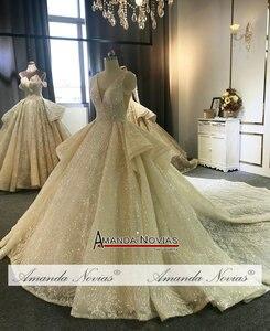 Image 3 - Amanda Novias Marke Hochzeit Kleid Fabrik Luxus Brautkleid